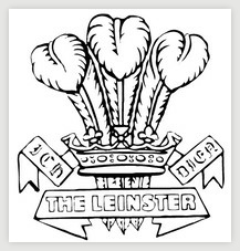 Capbadge of The Leinster Regiment